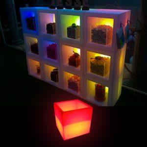 LED Open Cube