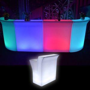 Illuminated LED Straight Bar