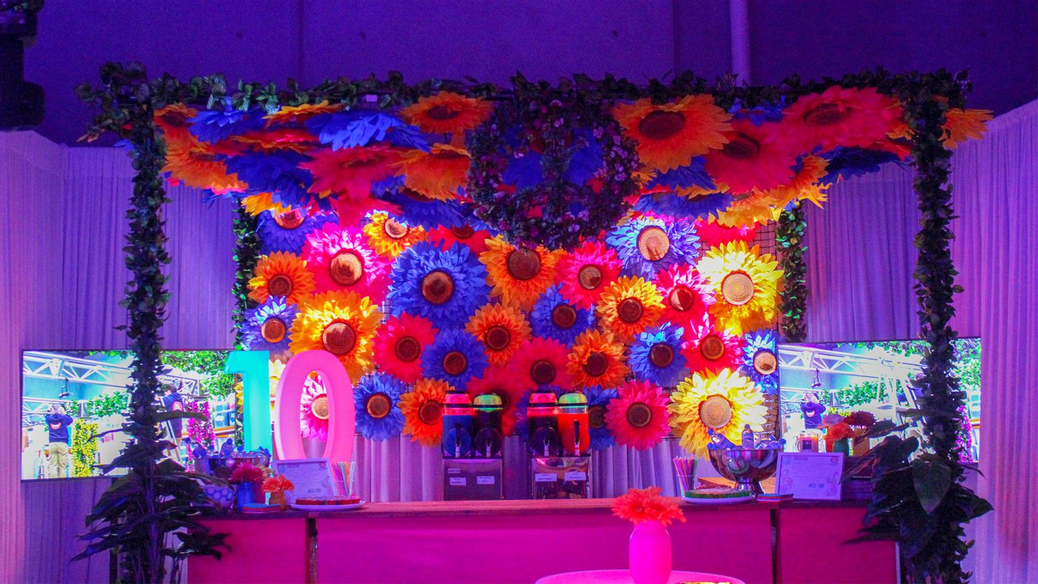 FGE - 60s Themed Event - Bar Canopy Hire