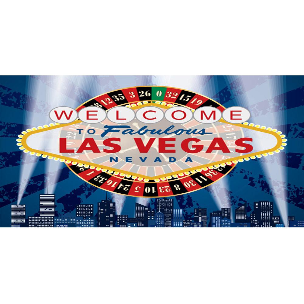 Large Las Vegas Backdrop Hire Melbourne