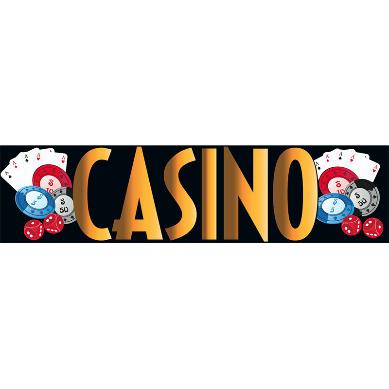 Casino Themed Entrance Banner Hire Melbourne